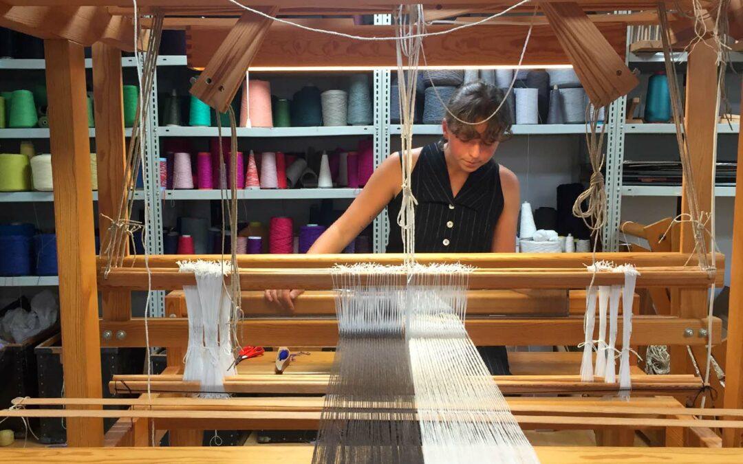 Minilaboratorier med tekstile redskaber
